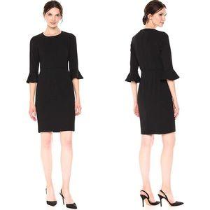 • donna morgan • ruffle cuff sheath dress [NWOT] •